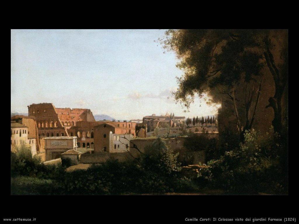 camille_corot_colosseo_dai_giardini_farnese_1826