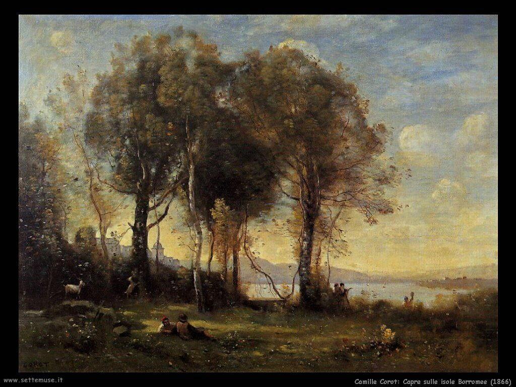 camille_corot__capre_sulle_isole_borromee_1866