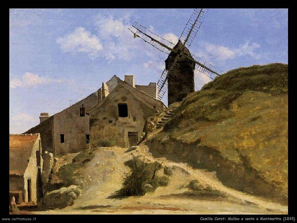 camille_corot_mulino_a_vento_a_montmartre_1845