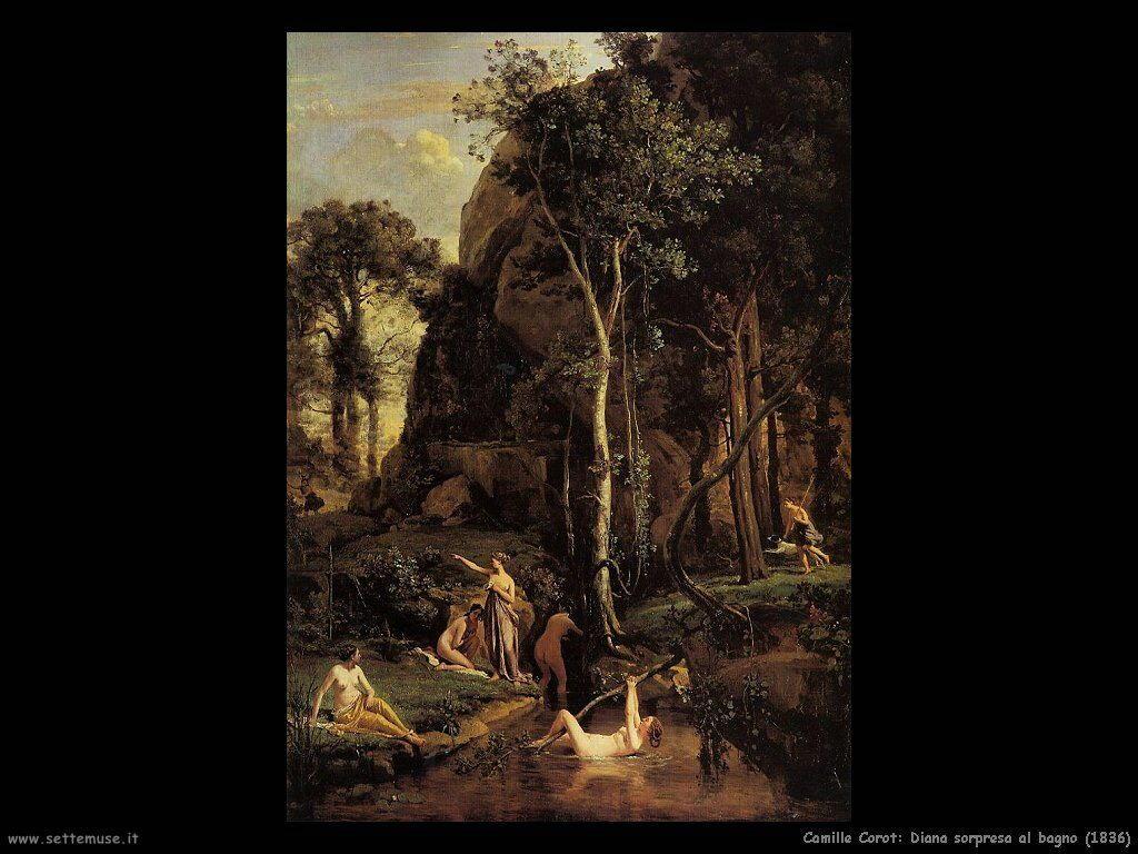 Camille corot pittore biografia opere quadri - Il bagno di diana klossowski ...