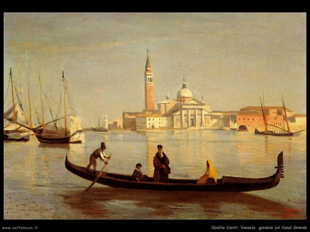 camille_corot_venezia_gondole_sul_canal_grande