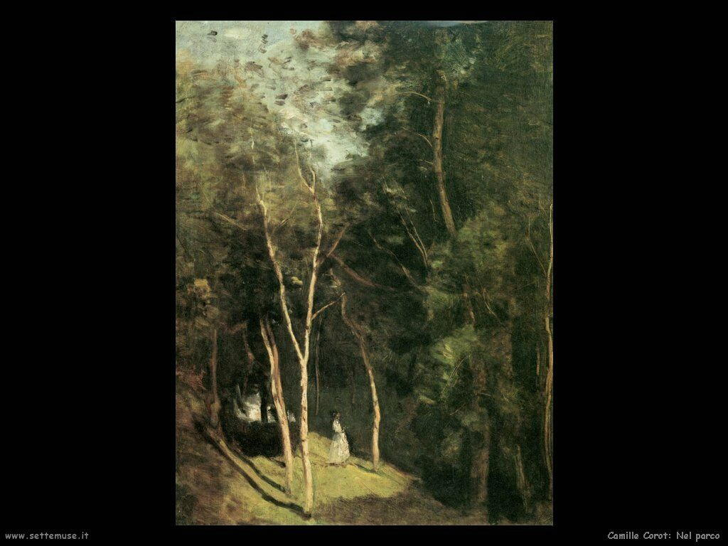 camille corot nel parco