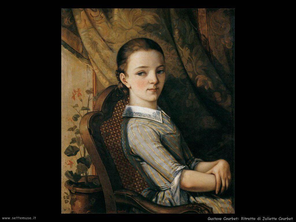 Ritratto di Juliette Courbet