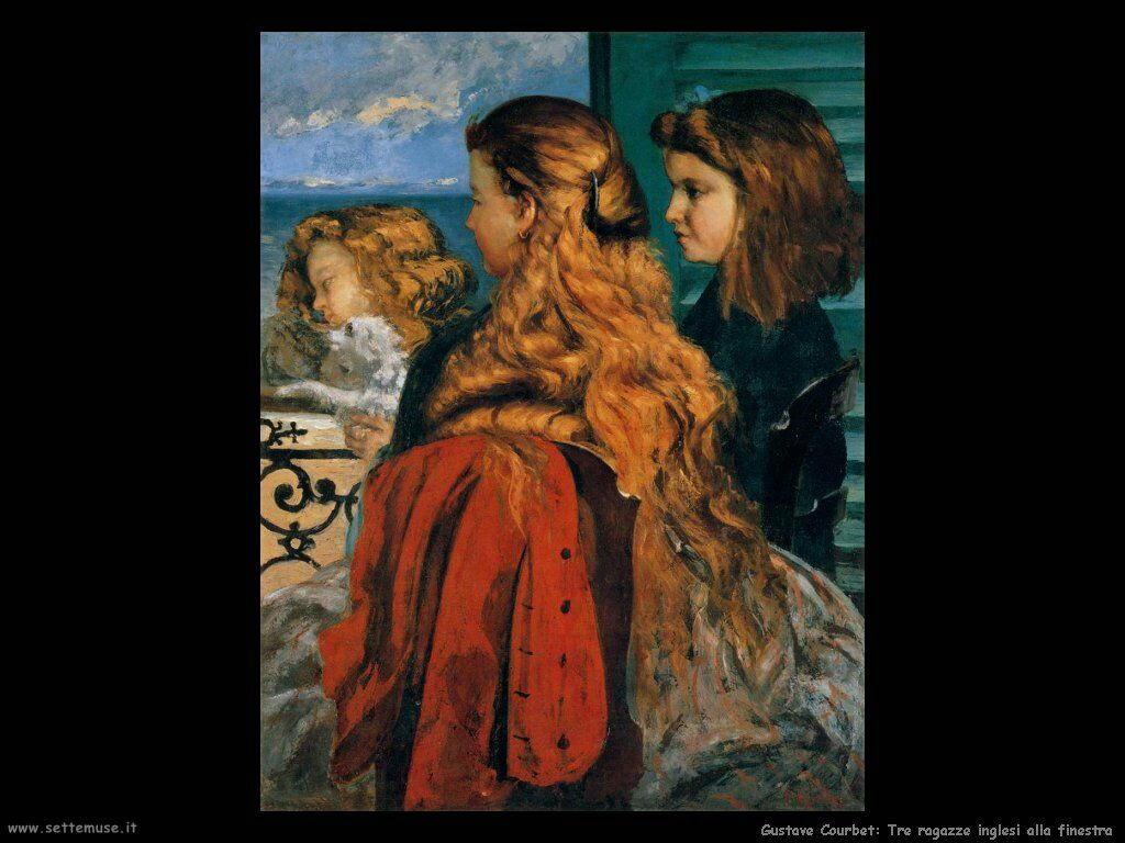 Tre ragazze inglesi alla finestra