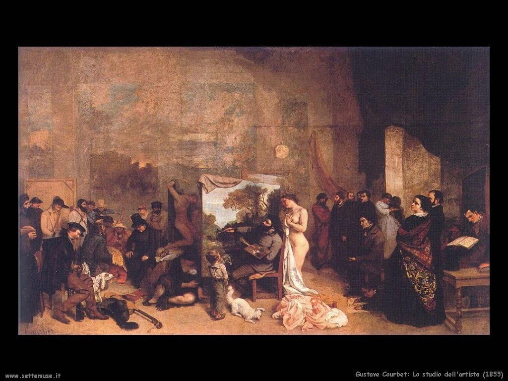 GUSTAVE COURBET pittore biografia opere quadri | Settemuse