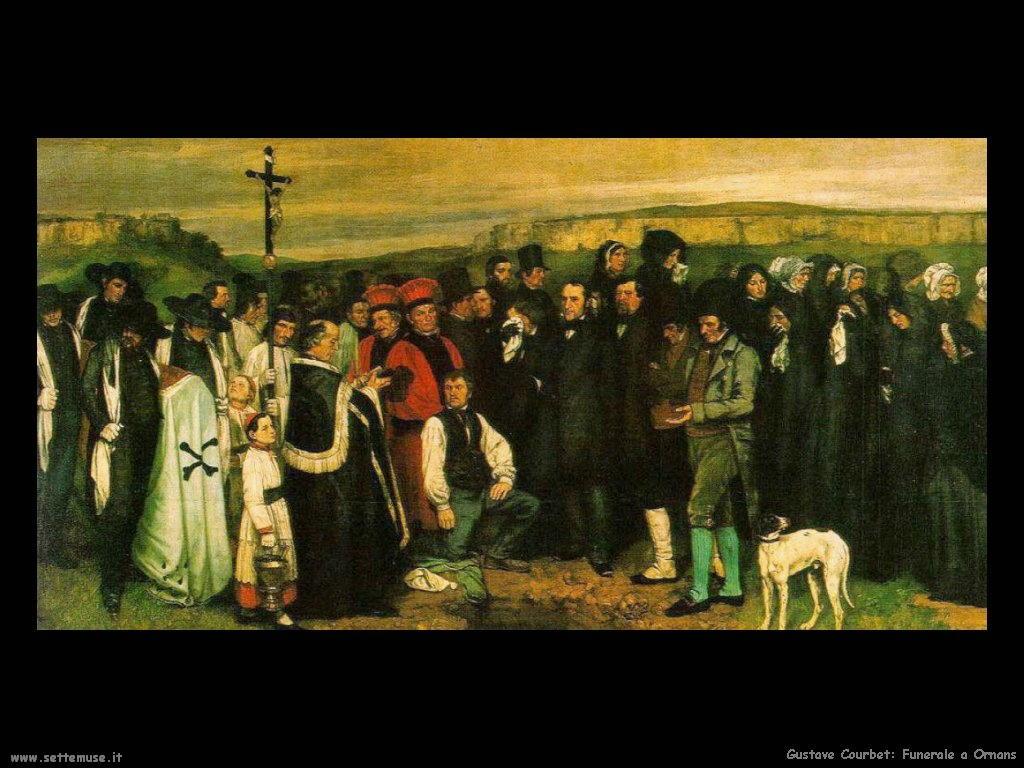 Funerale a Ornans (1849)