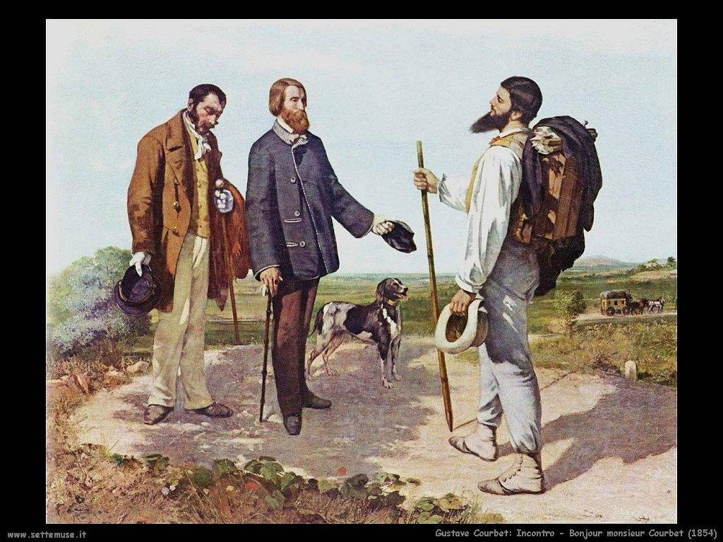 Incontro: Bon jour monsieur Courbet (1854)