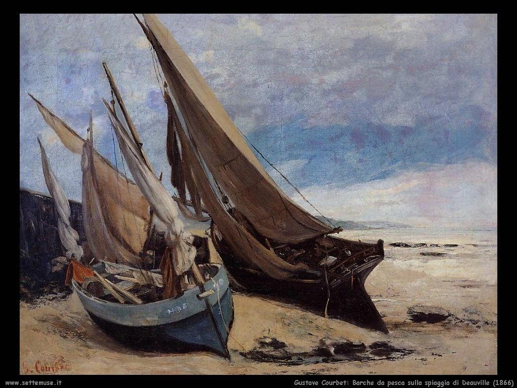 Barche da pesca sulla spiaggia