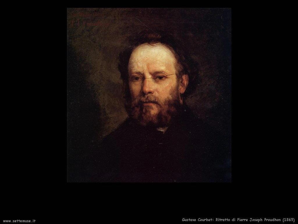 Ritratto di Pierre Joseph Proudhon (1865)