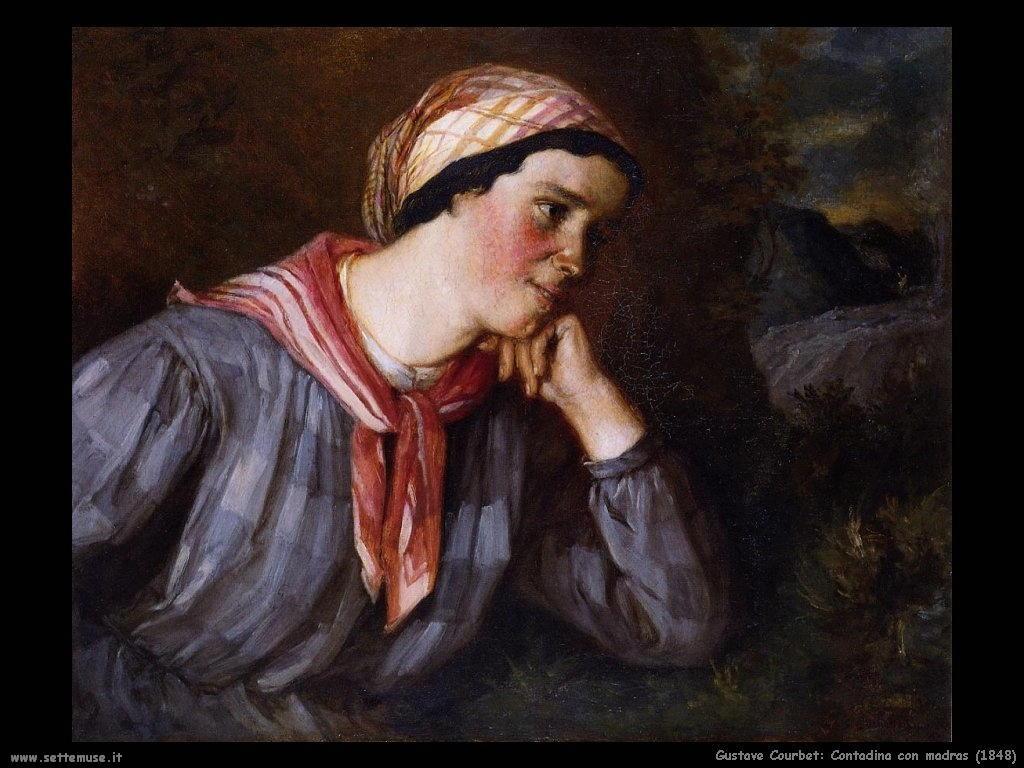Contadina con madras (1848)