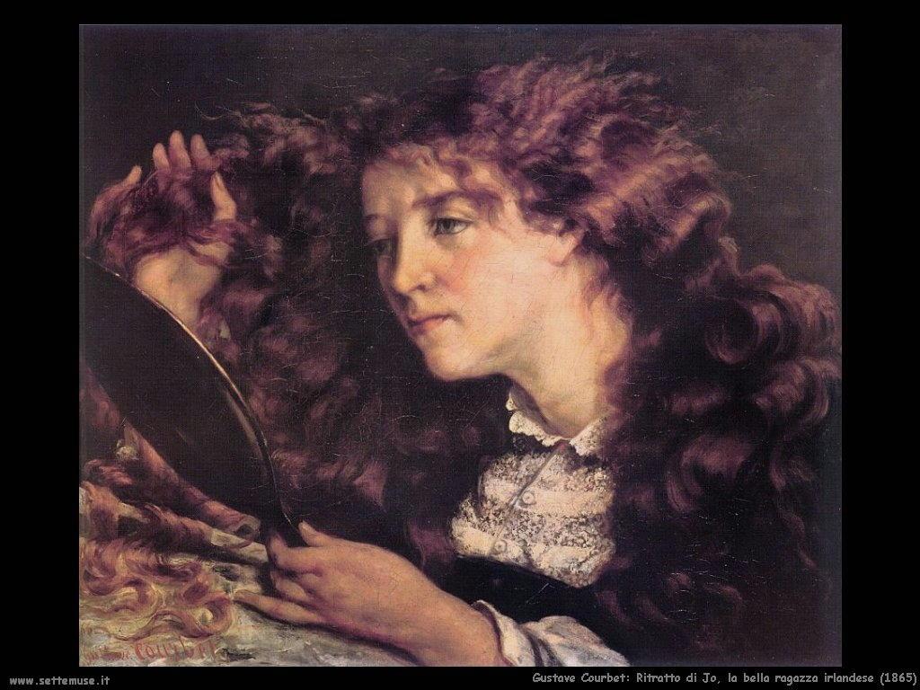 Ritratto di Jo, bella ragazza irlandese (1865)