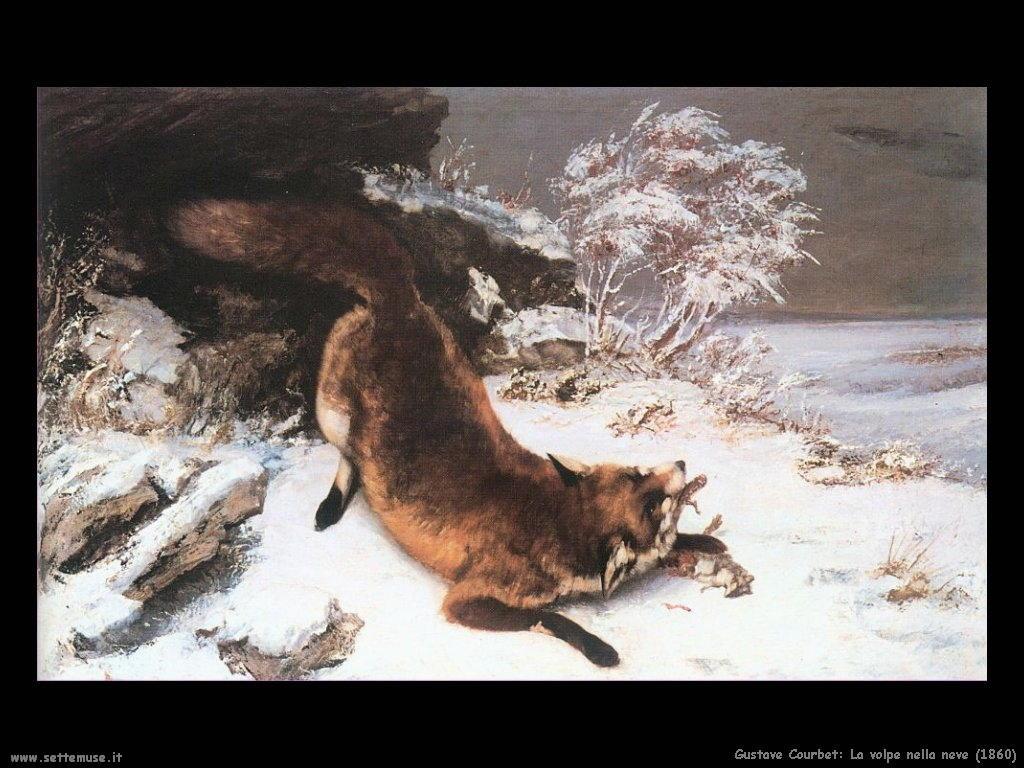 La volpe nella neve (1860)