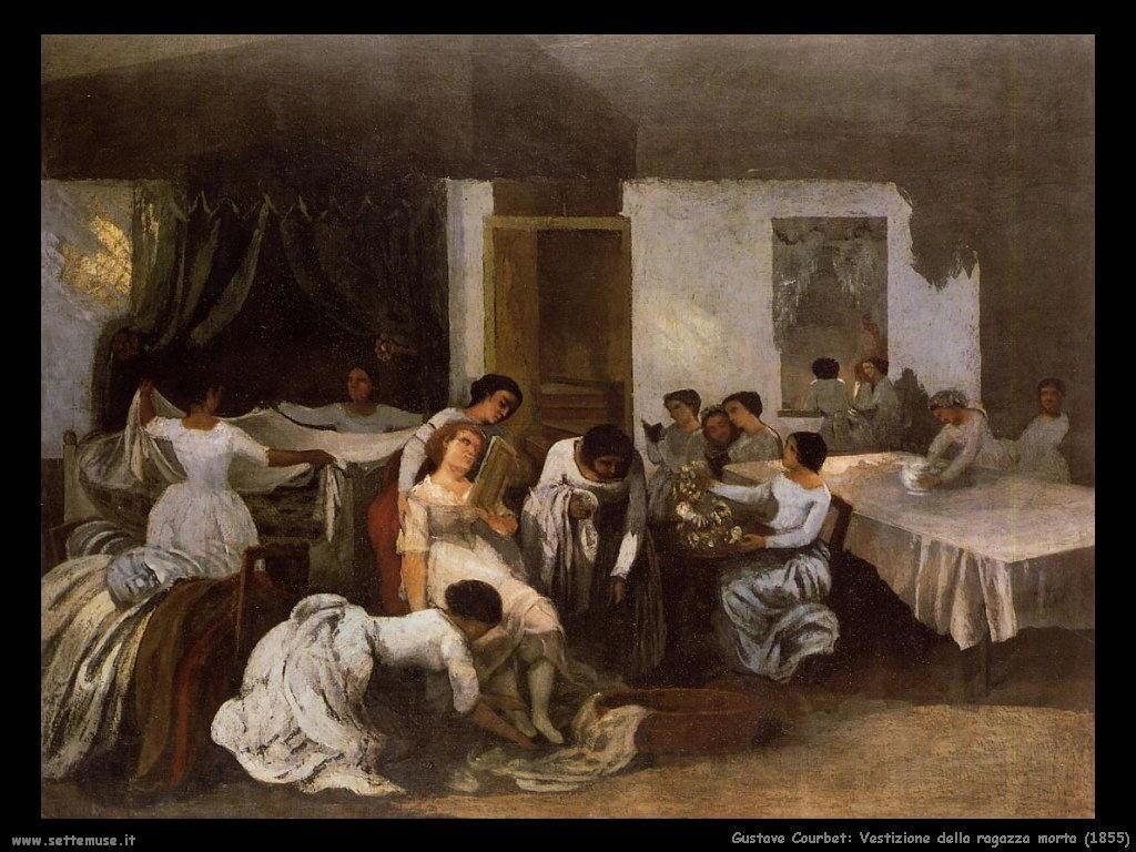 Vestizione della ragazza morta (1855)