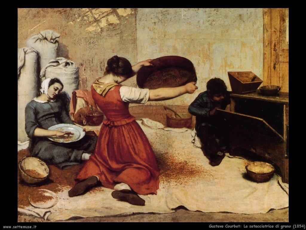 La setacciatrice di grano (1854)
