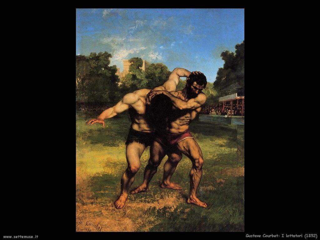 I lottatori (1852)