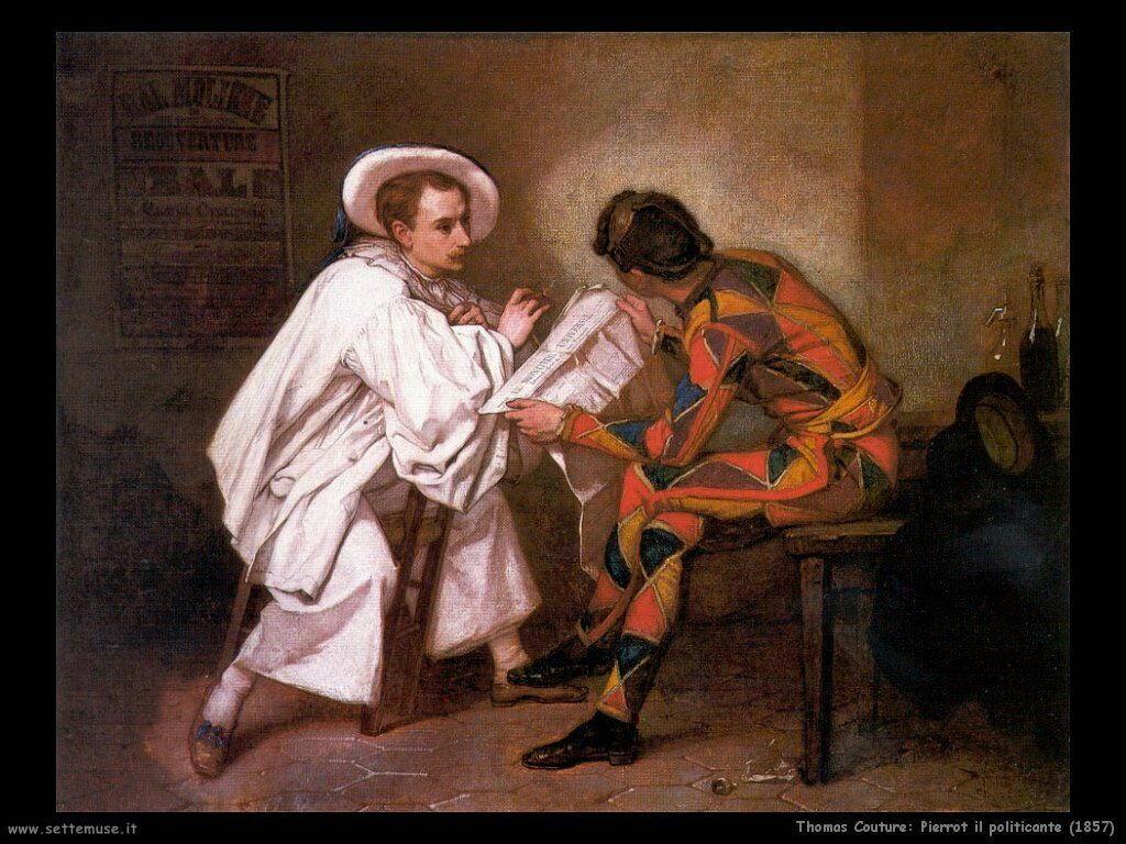 thomas_couture_pierrot_il_politicante_1857