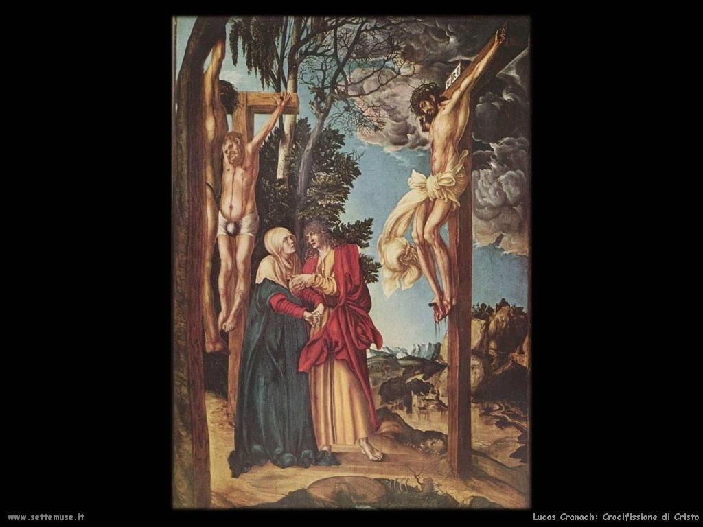 Lucas Cranach_crocifissione_di_cristo