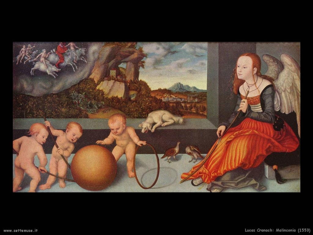 Lucas Cranach_malinconia_1553