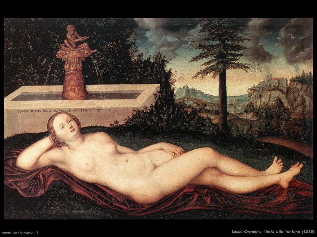 lucas_cranach_ninfa_alla_fontana_1518