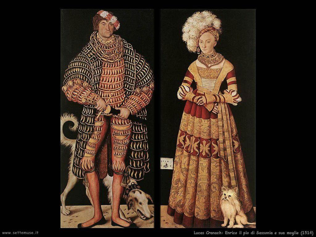 lucas_cranach_enrico_il_pio_di_sassonia_e_sua_moglie_1514