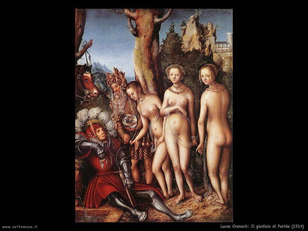 lucas_cranach_il_giudizio_di_paride_1514