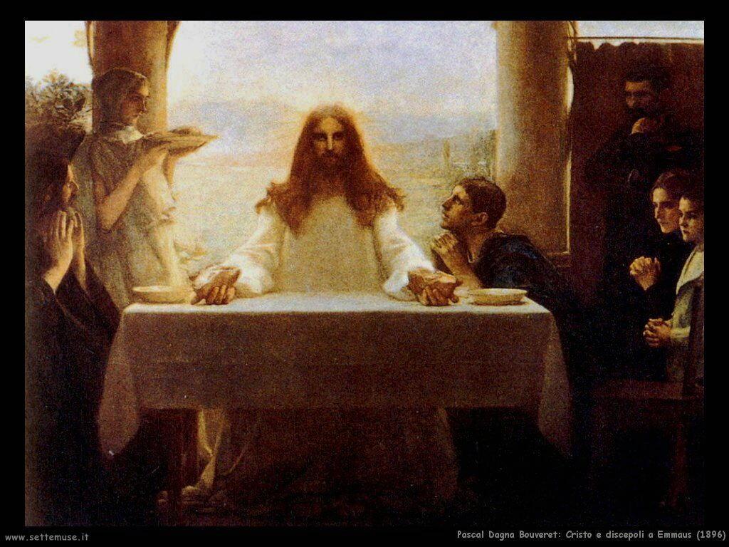 pascal dagnan bouveret cristo e discepoli a emmaus_1896