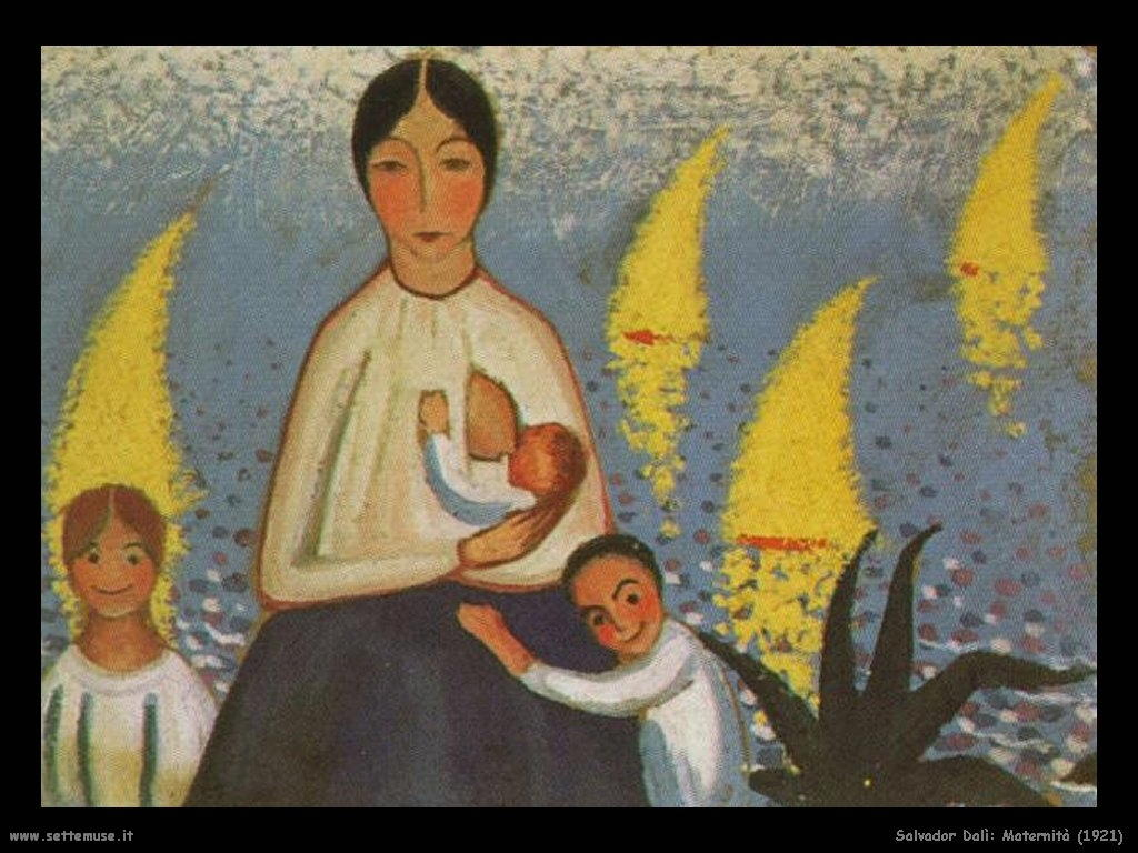 Salvador Dalì_maternità