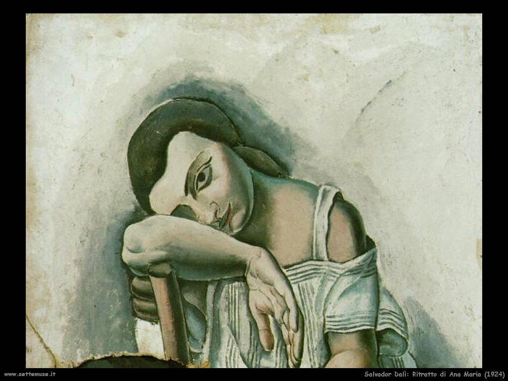 Salvador Dalì_ritratto_ana_maria