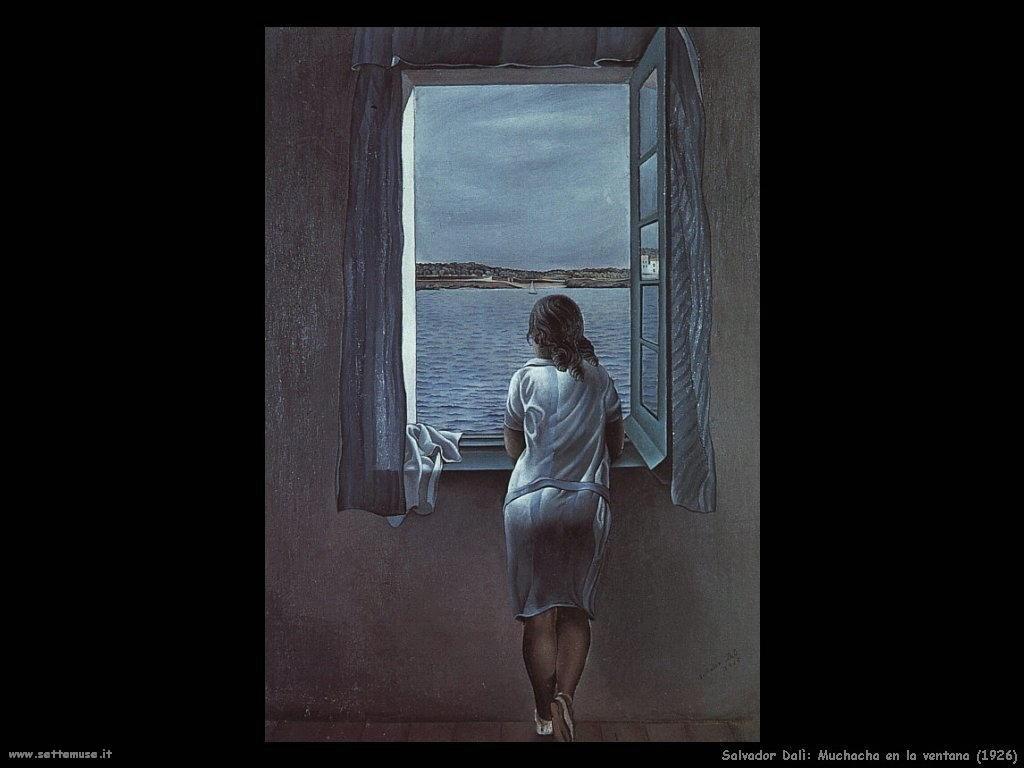 Salvador Dalì_muchacha_en_la_ventana