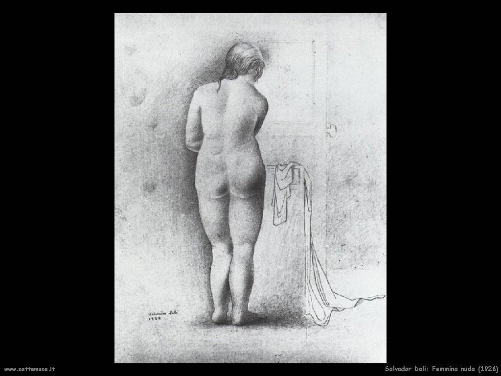 Salvador Dalì_femmina_nuda