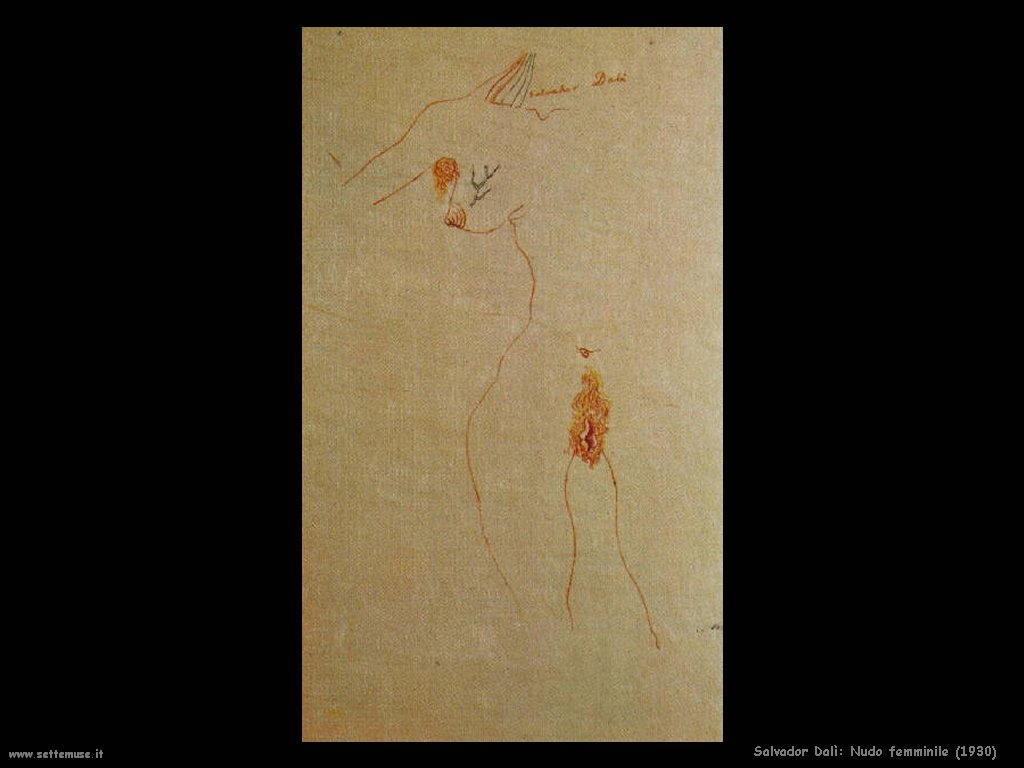Salvador Dalì_nudo_femminile