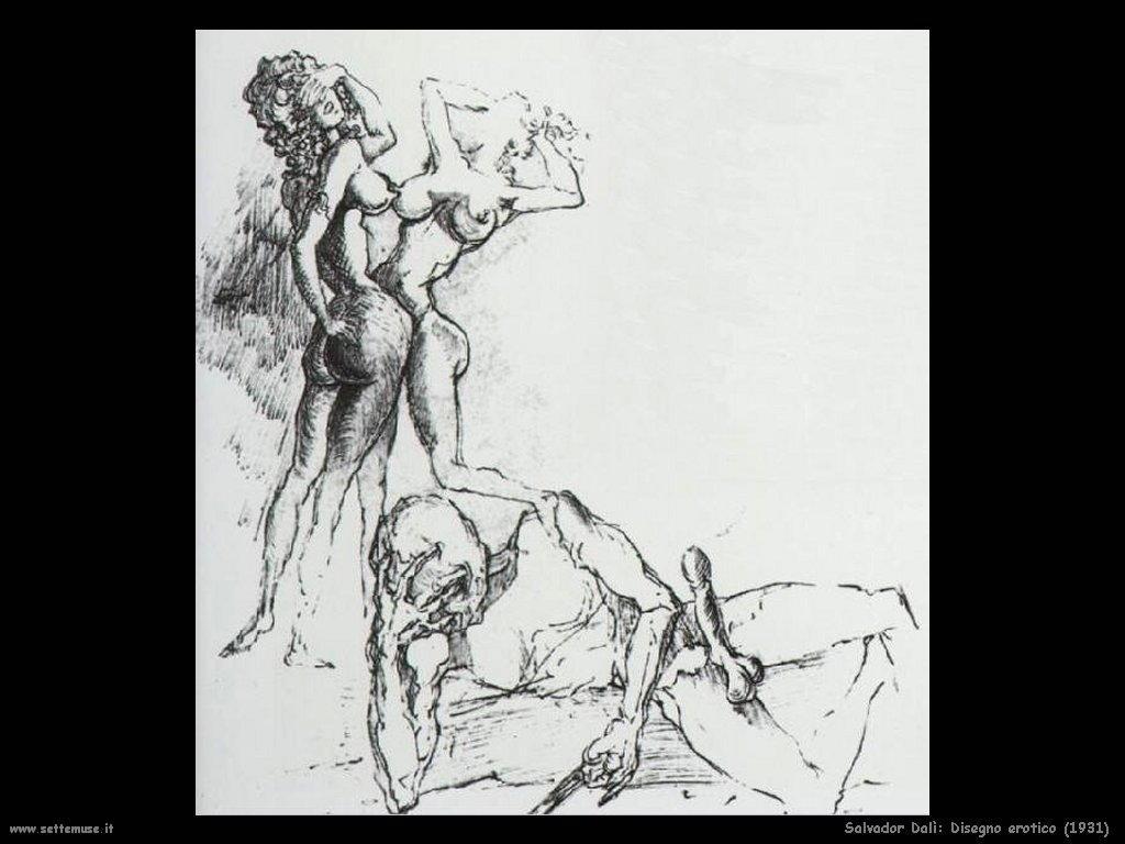Salvador Dalì_disegno_erotico