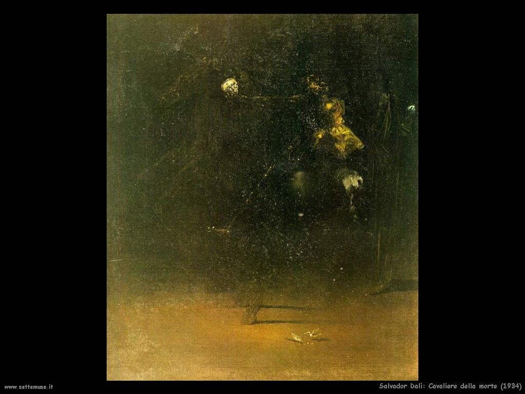 Salvador Dalì_cavaliere_della_morte