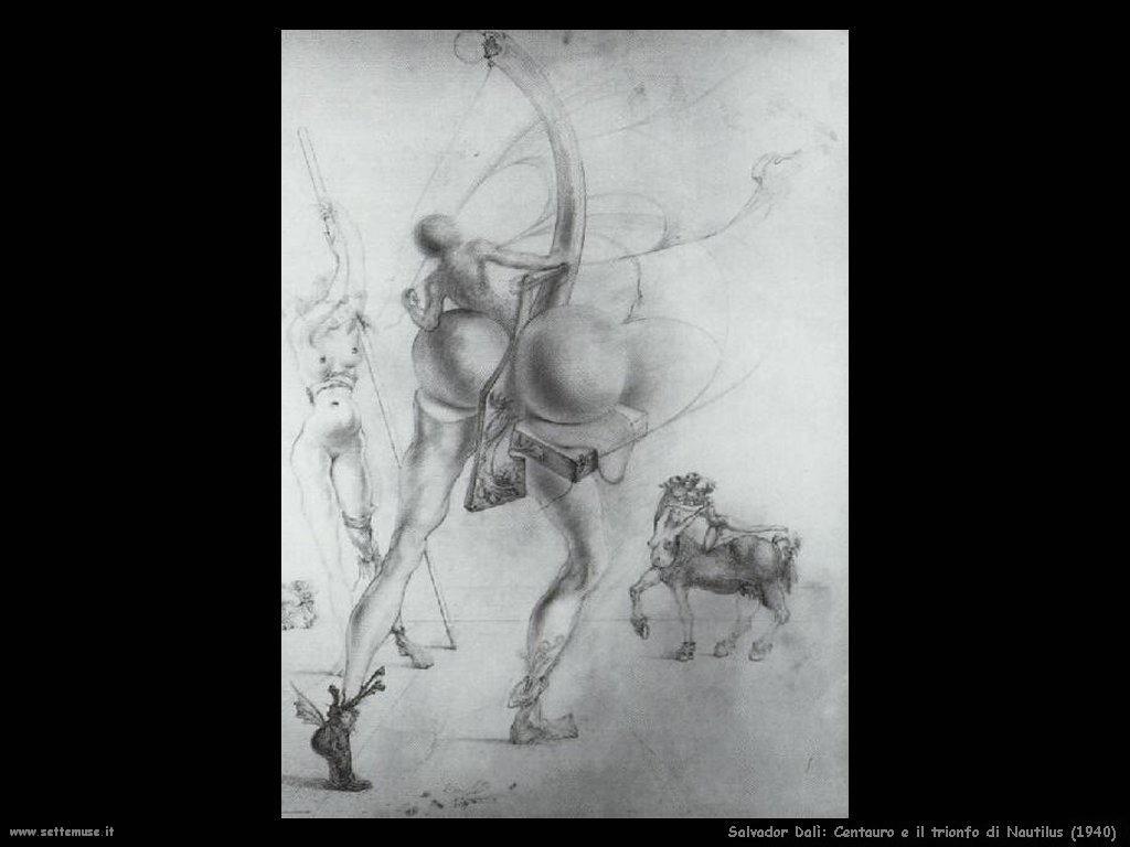 Salvador Dalì_centauro_il_trionfo_di_nautilus