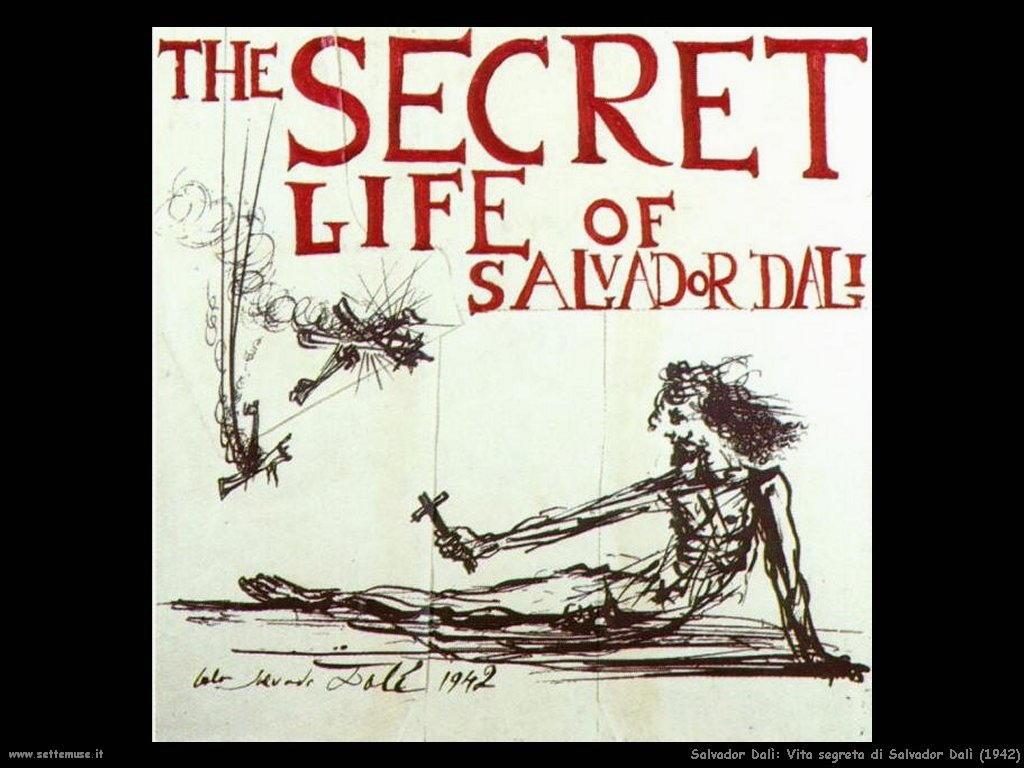 Salvador Dalì_vita_segreta_di_salvador_dalì_poster
