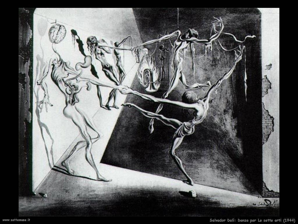 Salvador Dalì_danza_le_sette_arti