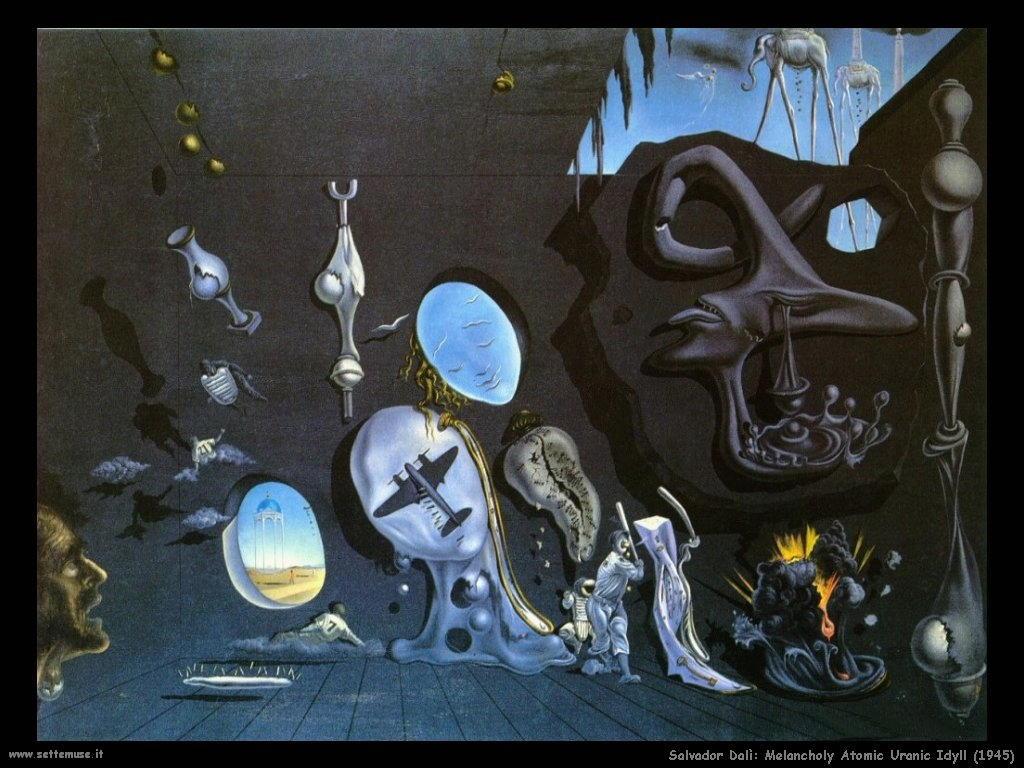 Salvador Dalì_melancholy_atomic_uranic_idyll