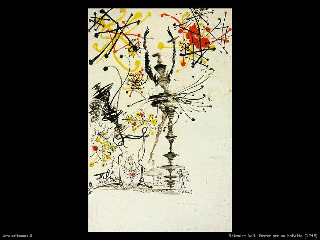 Salvador Dalì_poster_per_un_balletto