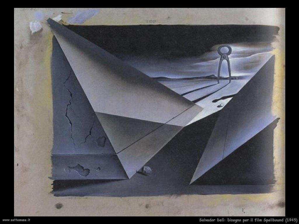 Salvador Dalì_disegno_per_film_spellbound_2
