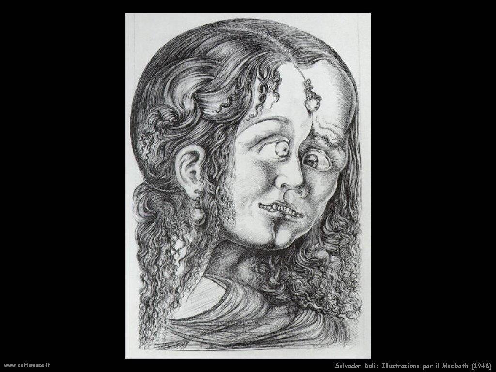 Salvador Dalì_illustrazione_per_il_macbeth