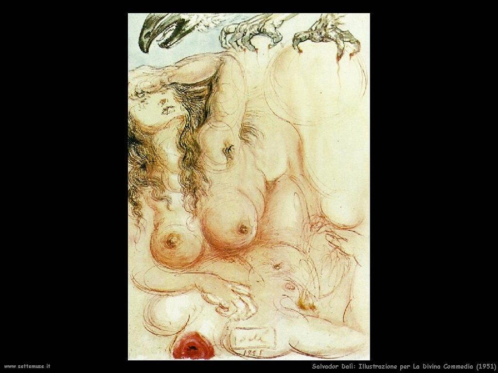Salvador Dalì_illustrazione_per_la_divina_commedia