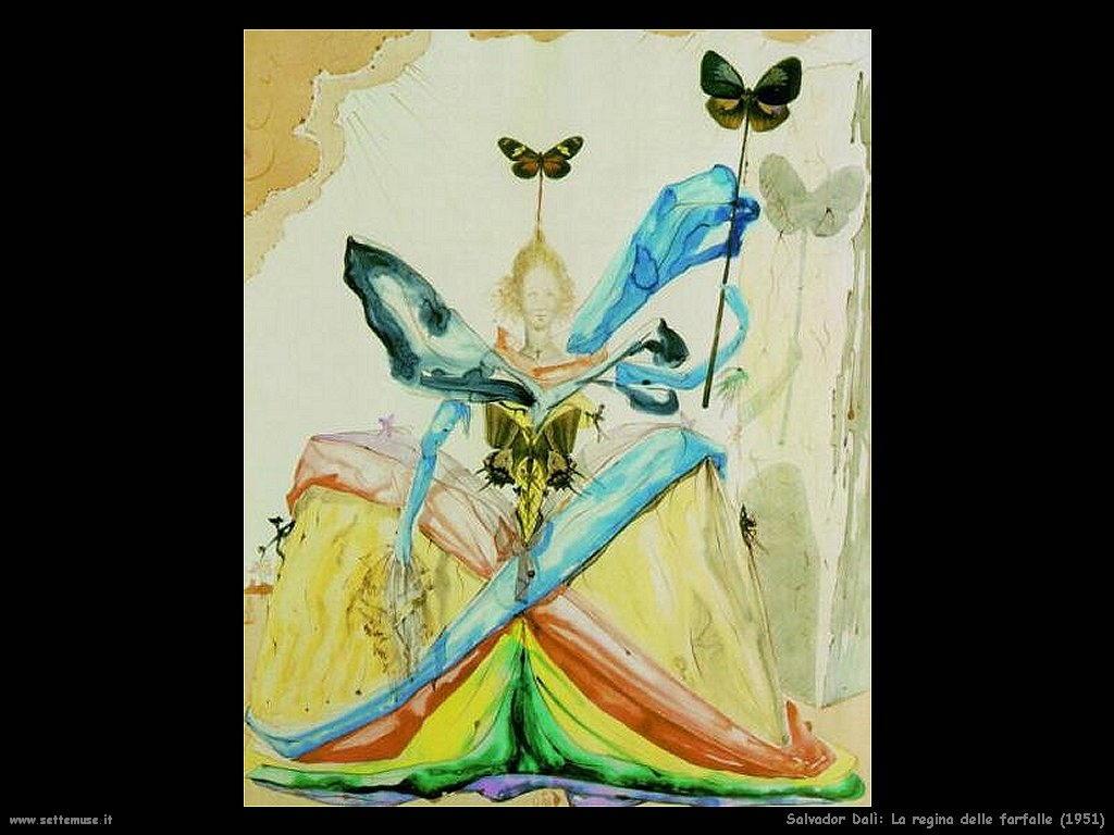 Salvador Dalì_la_regina_delle_farfalle