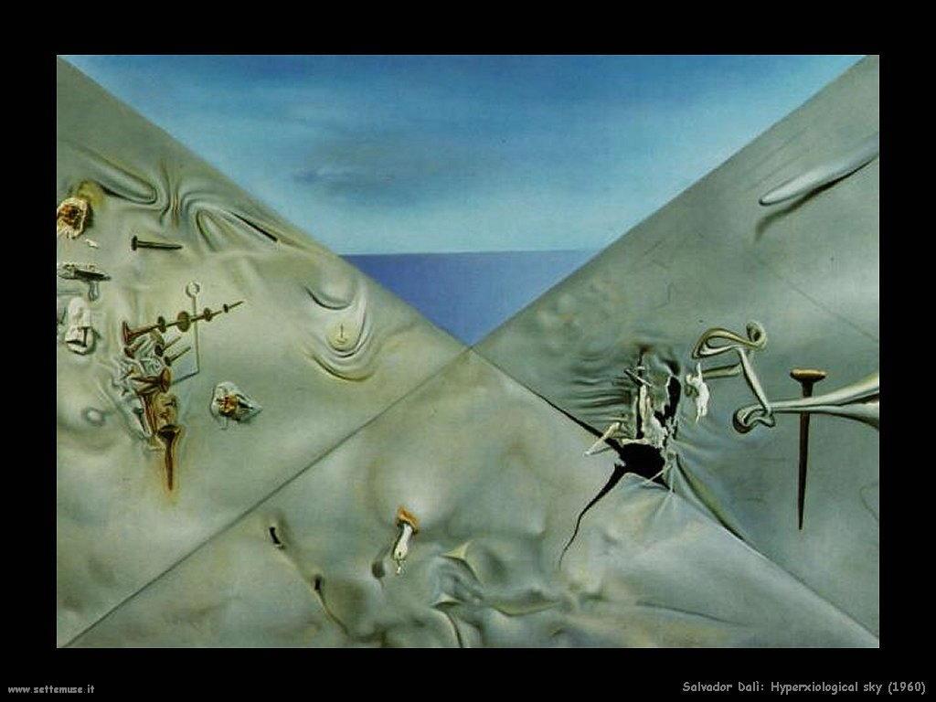 Salvador Dalì _hyperxiological_sky