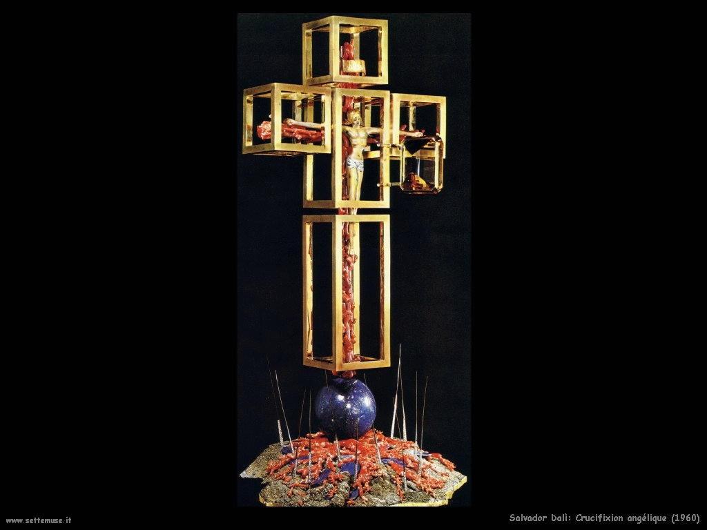 Salvador Dalì  crucifixion_angélique