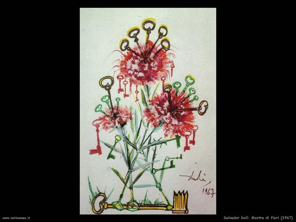 Salvador Dalì mostra_di_fiori