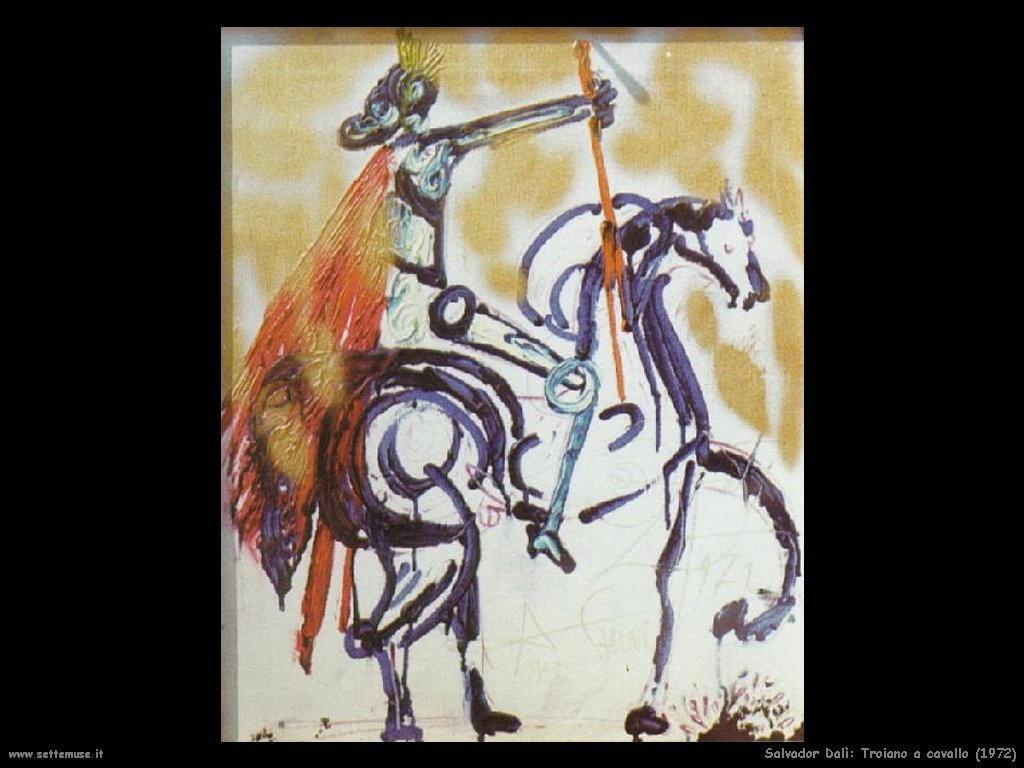 Salvador Dalì_troiano_a_cavallo