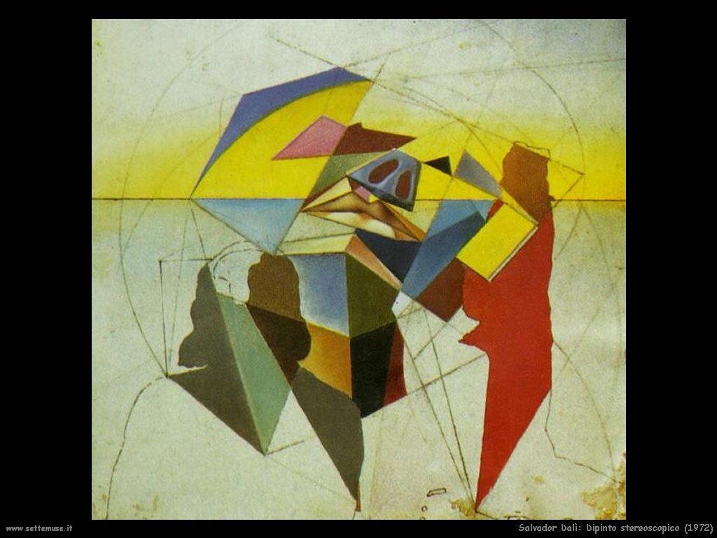 Salvador Dalì dipinto_stereoscopico