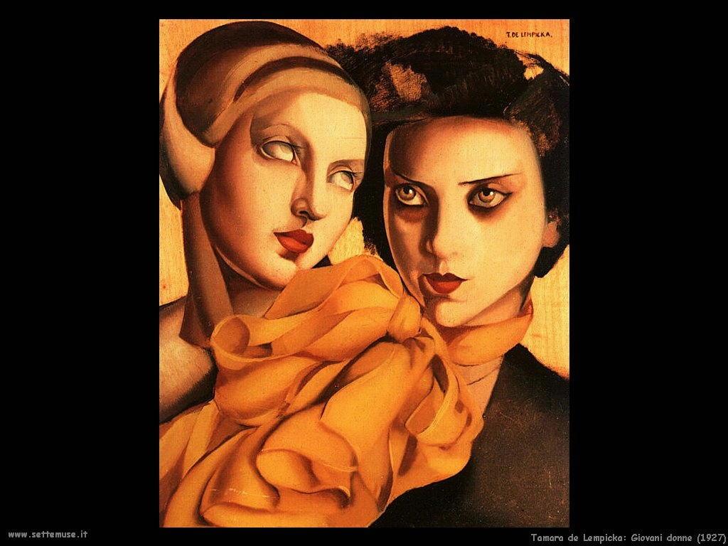 tamara_de_lempicka_giovani_donne_1927