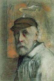Edgar Degas Autoritratto