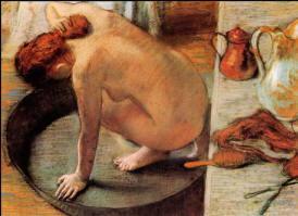 Edgar Degas Bagnante